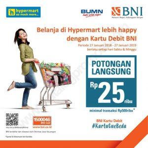 promo belanja bulan September 2018, potongan langsung Rp 25.000 di promo Hypermart