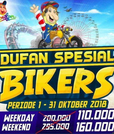 Promo Dufan Khusus Bikers Jabodetabek Jakartahotdeal