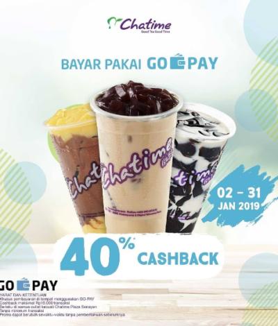 Promo Cashback Gopay Chatime Balik Lagi Yakin Ga Mau