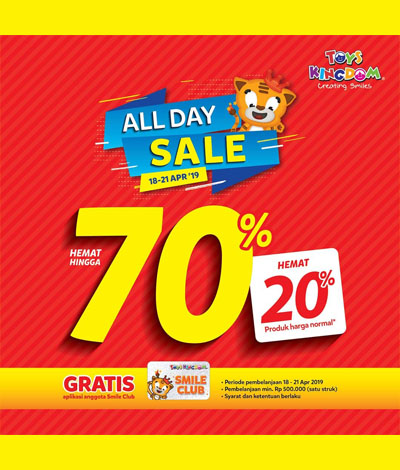ALL DAY SALE Toys Kingdom