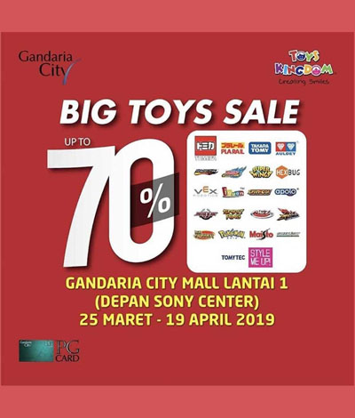 big toys gandaria city mall