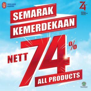 Promo Merdeka Holland Bakery, jakartahotdeal.com