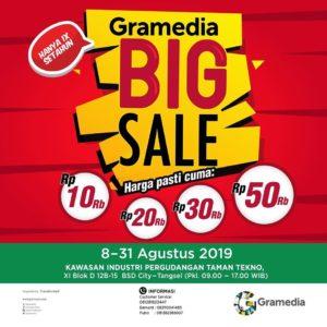 Gramedia Big Sale, jakartahotdeal.com