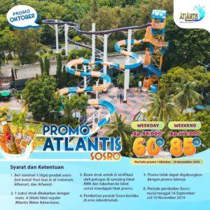 Promo Atlantis Sosro Oktober, jakartahotdeal.com