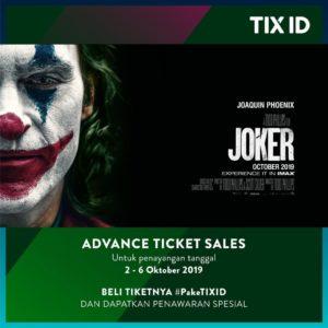 Promo Tiket Film Joker, jakartahotdeal.com