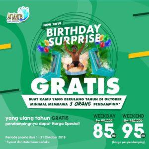 Promo Atlantis Birthday Surprise, jakartahotdeal.com