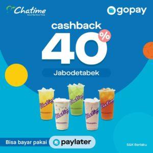 Promo GoPay Chatime, jakartahotdeal.com