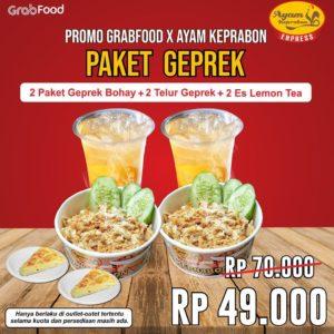 Promo Ayam Keprabon GrabFood, jakartahotdeal.com