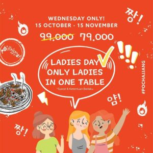 Promo Pochajjang Ladies Day, jakartahotdeal.com