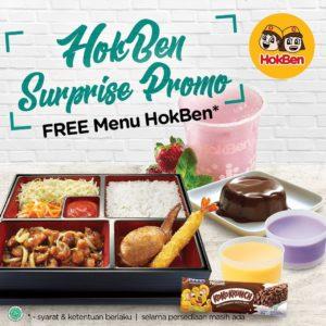 HokBen Surprise Promo, jakartahotdeal.com