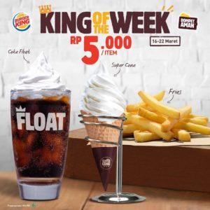 Promo Maret Burger King , Jakartahotdeal.com