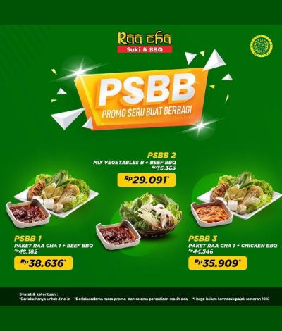 Promo Raa Cha Suki & BBQ, Jakartahotdeal.com