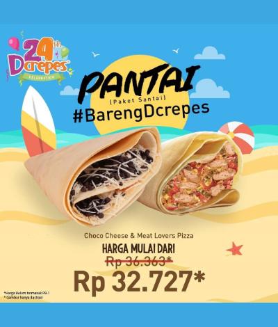Promo DCrepes, Jakartahotdeal.com