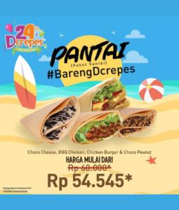 Promo DCrepes Paket Santai, Jakartahotdeal.com
