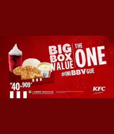 Promo KFC Big Box Value, Jakartahotdeal.com