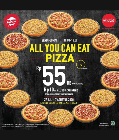Promo Pizza Hut All You Can Eat