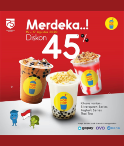 Promo Hop Hop Merdeka, Jakartahotdeal.com