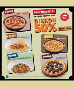 Promo Pizza Hut Dinner Special, Jakartahotdeal.com