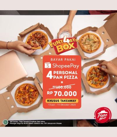 Promo Pizza Hut FUNT4STIC Box, Jakartahotdeal.com