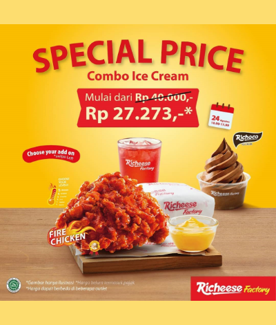 Promo Richeese Factory Special Price, Jakartahotdeal.com