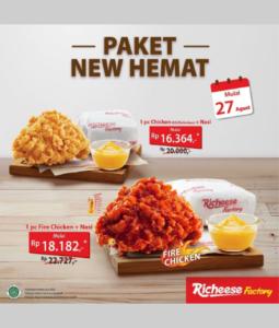 Promo Richeese Paket New Hemat, Jakartahotdeal.com
